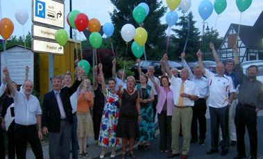 Luftballons über Freudenberger Himmel
