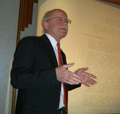 Udo Wambsganss, Patientenverfügung