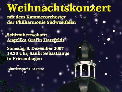 Weihnachtskonzert 2007, 1