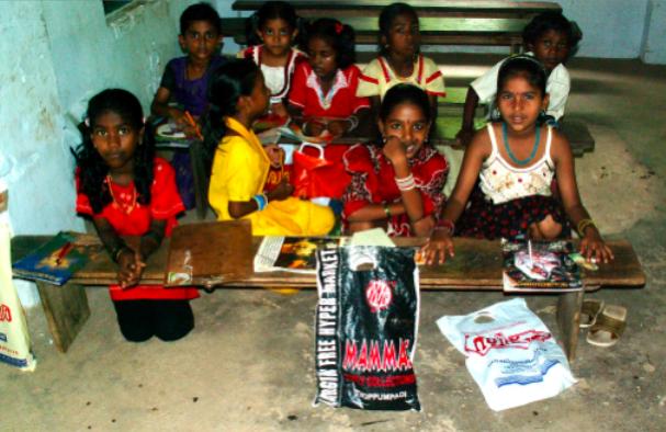 Indische Fischerkinder