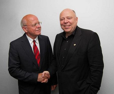 (v.l.n.r.) Udo Wambsganß und Michael Theis